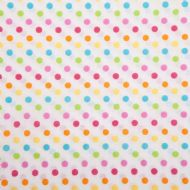 Poly/Cotton pastel spots